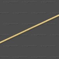 56.5808 GG Schlange 8-kant massiv 0,8mm