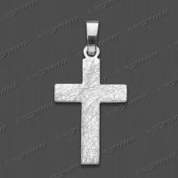 43-0010 SRh Kreuz massiv 20x13mm