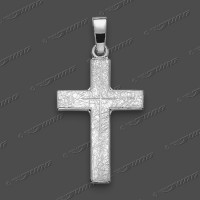 43-0025 SRh Kreuz massiv 20x14mm