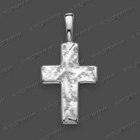 43-0040 SRh Kreuz massiv 17x12mm
