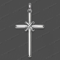 43-0233 SRh Kreuz massiv 33x20mm