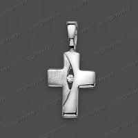 53-0028 SRh Kreuz 11x8mm
