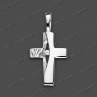 53-0030 SRh Kreuz massiv 17x11mm