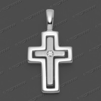 53-0032 SRh Kreuz 18x13mm