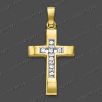 53-0043.90 GRh 333 Kreuz