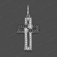 53-0065-1 SRh Kreuz 21x19mm