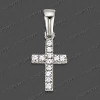 53-0084 WG 375 Kreuz massiv 14x8mm