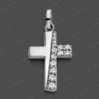 53-0095 SRh Kreuz massiv 17x11mm