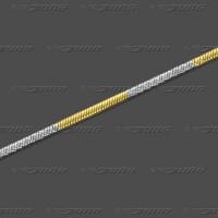 56.1014 GRh Schlange rund massiv 1,4mm