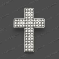 63-0006 -AKTION- SRh Kreuz massiv 20x14mm
