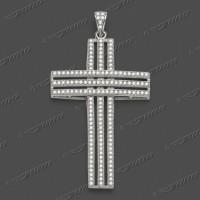 63-0010 SRh Kreuz massiv 42x30mm