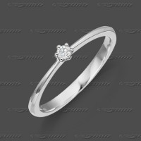 71-001-005 WG 585 Ring 3mm - Brillant