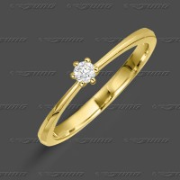 71-001-009 GG 585 Ring 3,4mm - Brillant