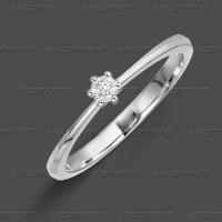71-001-009 WG 585 Ring 3,4mm - Brillant