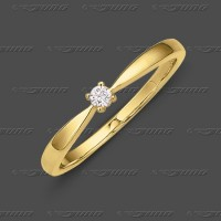 71-002-005 GG 585 Ring 2,4mm - Brillant