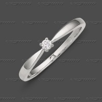 71-002-905 WG 333 Ring 2,4mm - Zirkonia