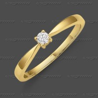 71-002-010 GG 585 Ring 3,2mm - Brillant