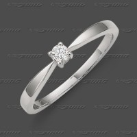 71-002-010 WG 585 Ring 3,2mm - Brillant