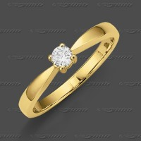 71-002-015 GG 585 Ring 3,5mm - Brillant